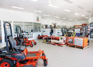 Parts Department moved to Gladstone Road