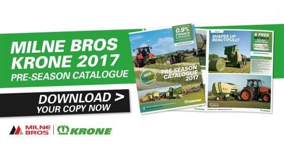 Milne Bros Krone 2017 Pre-Season Catalogue