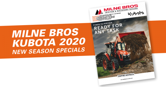 Milne Bros Kubota Catalogue 2020