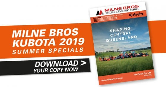 Milne Bros Kubota 2019 Summer Catalogue