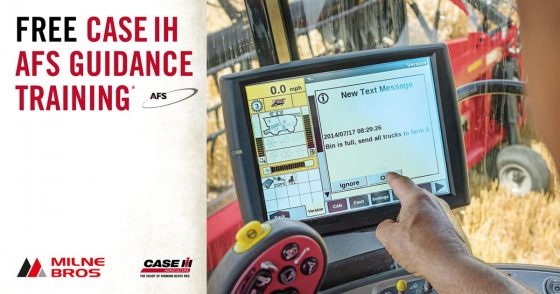 Free CASE IH AFS Guidance Training