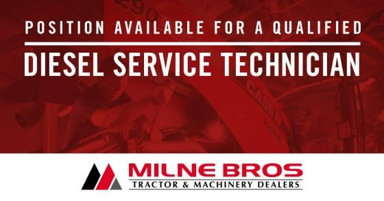 Milne Bros are hiring