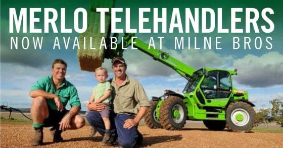 Merlo Telehandlers have arrived in CQ